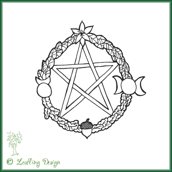 God-dess Pentagram tattoo by ~Witchling-Ashara on deviantART