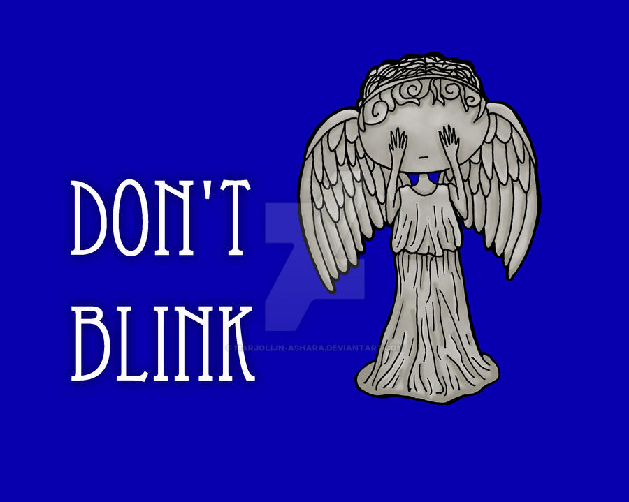 Don't Blink... by Marjolijn-Ashara