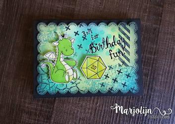 DnD Birthday Card by Marjolijn-Ashara
