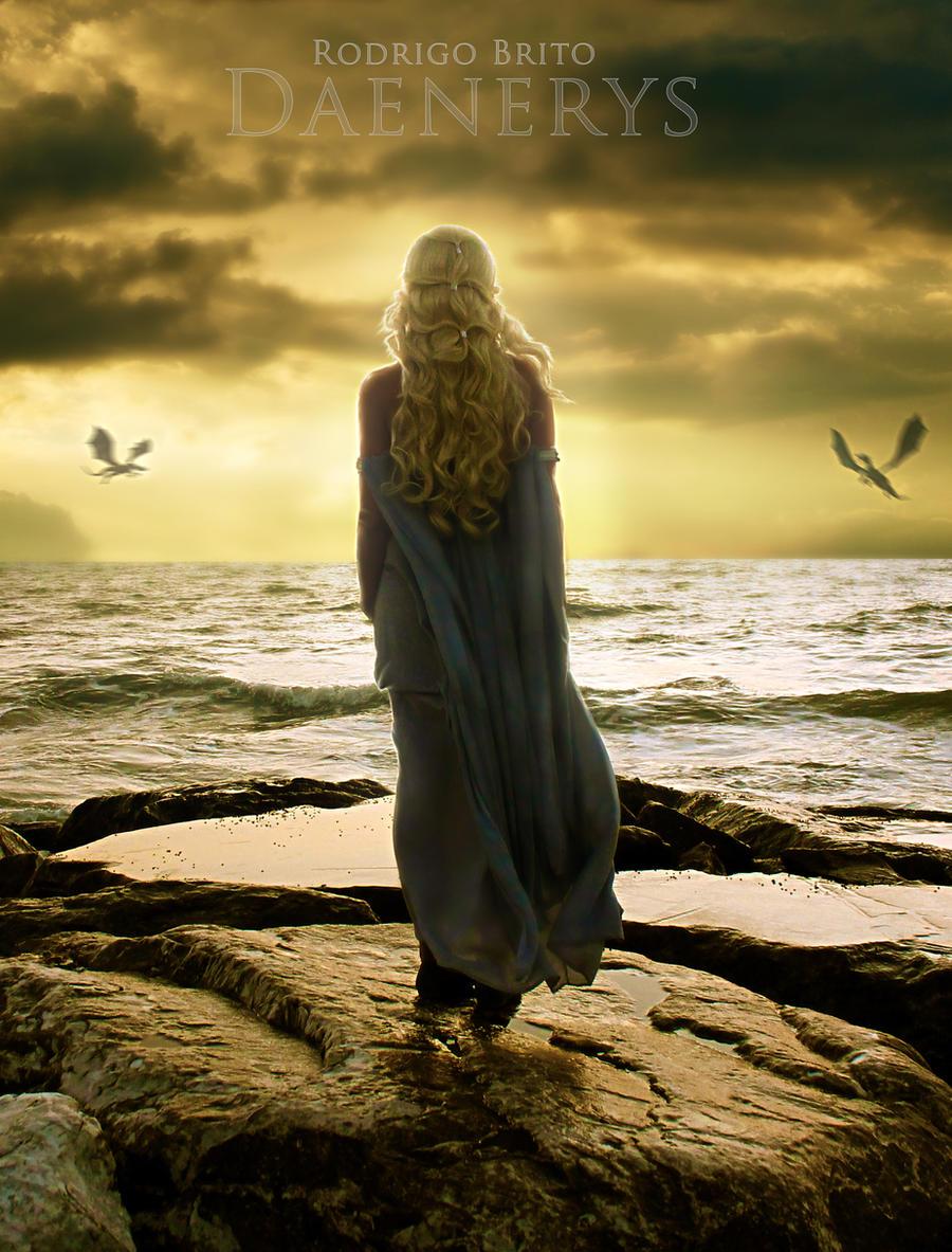 Game of Thrones - Daenerys by RodrigoBrito