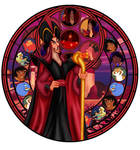 Stained glass Jafar