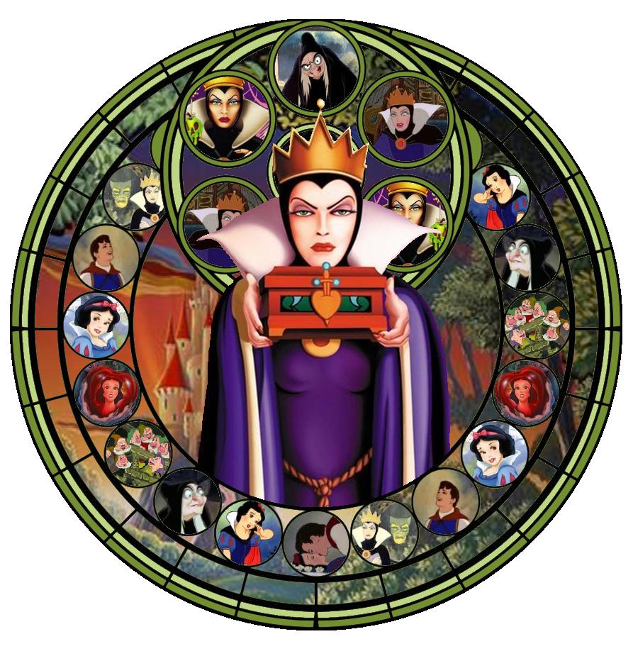 Stained Glass Evil Queen by IlSelma on DeviantArtDisney Evil Queen Art