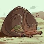 Baby Yoda and a Blurrgh
