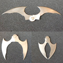 Batman Arkham batarang by fractured100