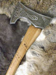 Norse bearded axe by fractured100