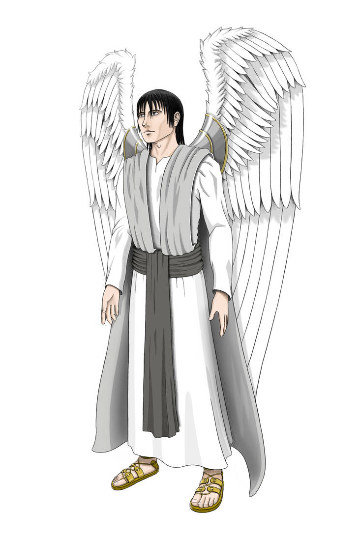 Original Andiellus Concept Art - Uriel