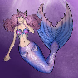 mermay day 3 by SofiOwl