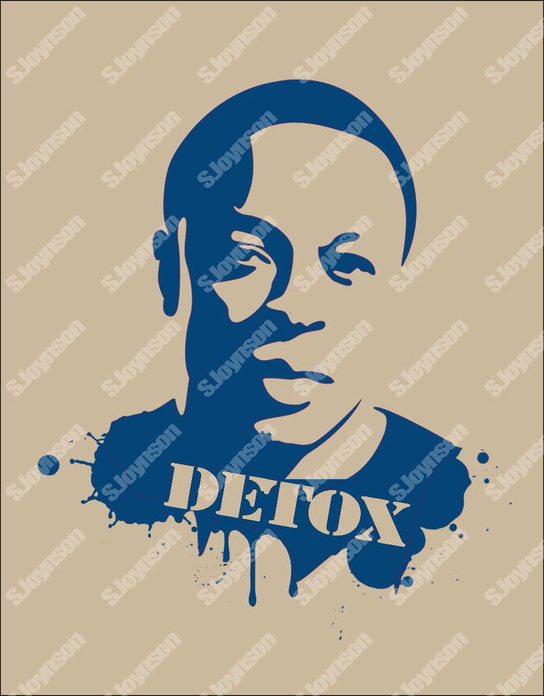 dr dre detox stencil by seanjj on deviantart. Black Bedroom Furniture Sets. Home Design Ideas