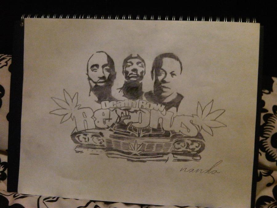 Death row records logo drawing deathrow records 2pac snoop