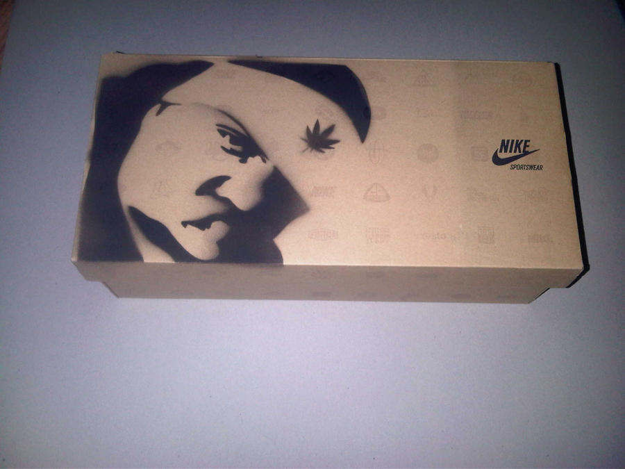 Biggie Smalls Nike Shoe Box by SeanJJ on DeviantArt