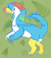 Anzen the Bambiraptor by Kimmorz