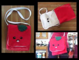 Apple Messenger Bag by Kimmorz
