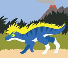 Go Dinosaur by Kimmorz