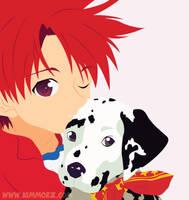 DNAngel: Daisuke + Dalmatian by Kimmorz