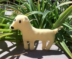 Lab Plush Puppy by Kimmorz