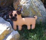 Pug Plush Puppy
