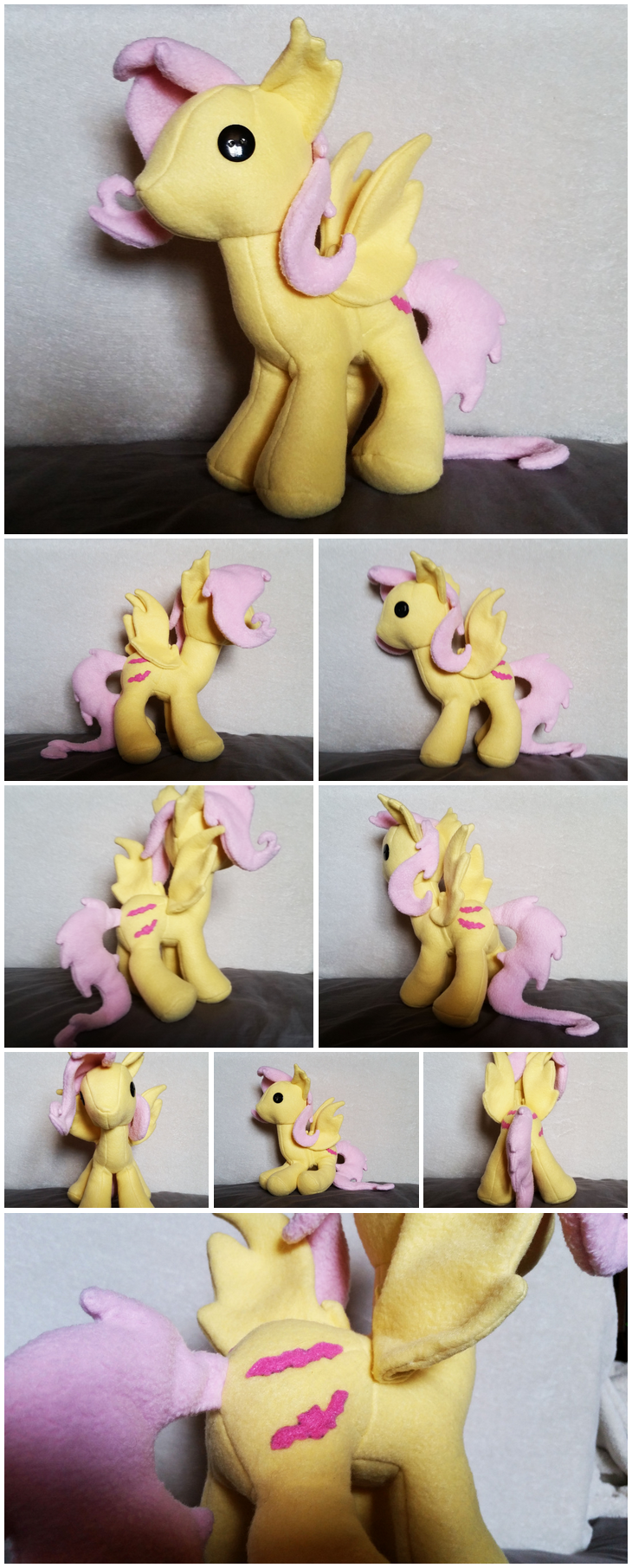 Flutterbat Plush [FOR SALE] by Kimmorz