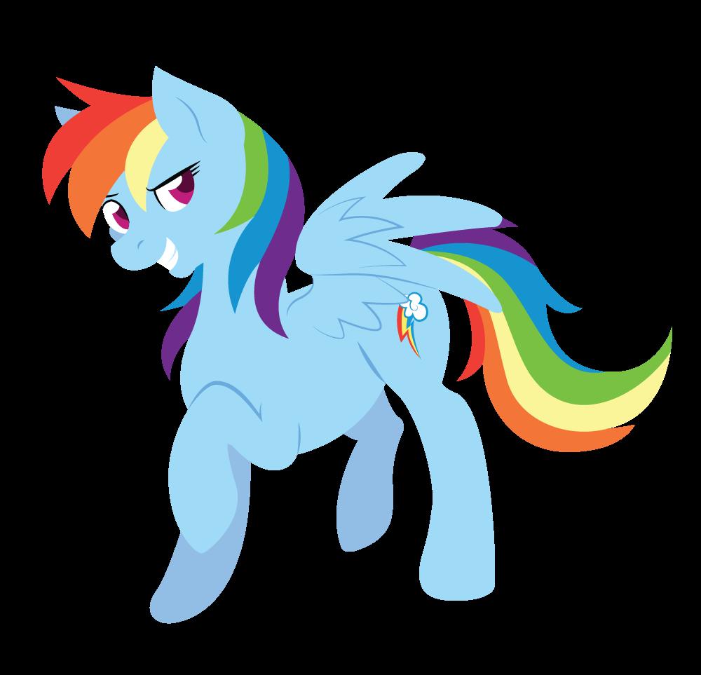 Rainbow Dash by Kimmorz
