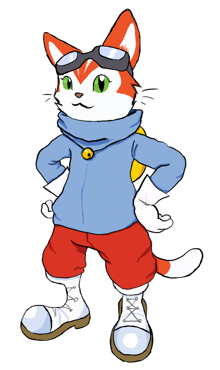 Blinx the Time Sweeper by Kimmorz