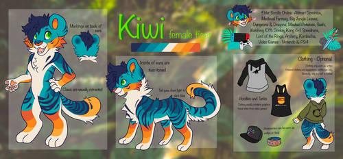 Kiwi Reference Sheet