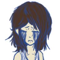 Blue tears by skribble1992