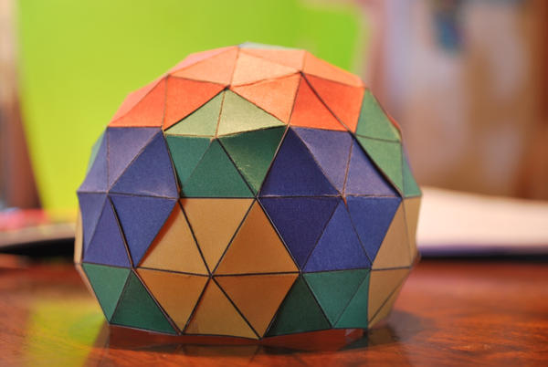 Mini geodesic dome by BellaCielo on DeviantArt