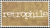 Retrophile stamp by BellaCielo