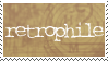 Retrophile stamp by BellaCielo