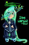Chibi IBM Watson-tan