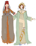 Two Ancients - colored