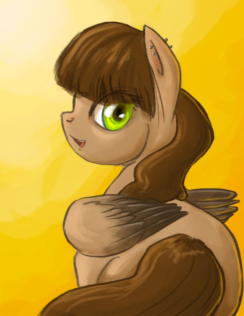 Mah Ponysona by BellaCielo