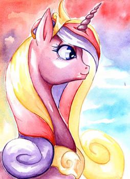 Princess Cadance - Watercolor