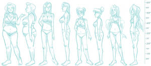 Mainframe Body References II