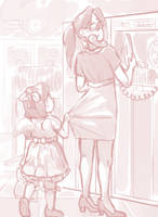 Bring Your Daughter to Work Day by BellaCielo