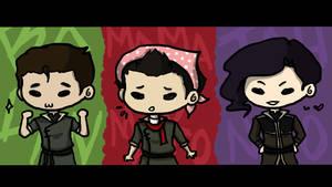 The Boys of Korra - Chibi by ShOrtSh4dow