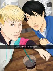 Coffee Date by ShOrtSh4dow