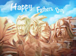 Fathers Day Mount Rushmore