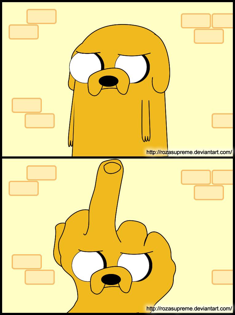 Jake Says No by rozasupreme