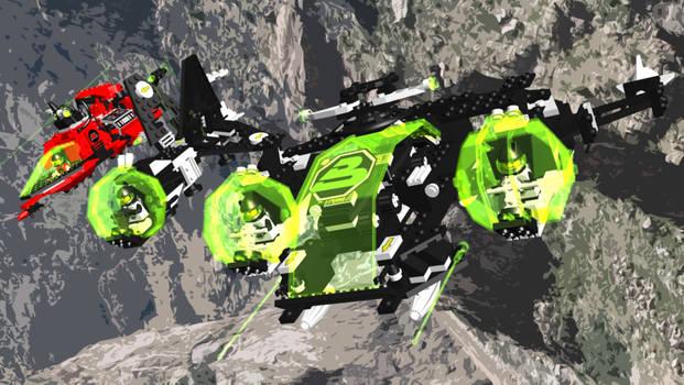 An Aerial Avenger Ionizer