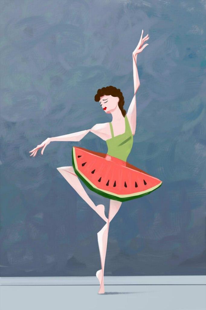 Balerina by Hitryi-Pryanik