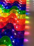 Seeing through a rainbow