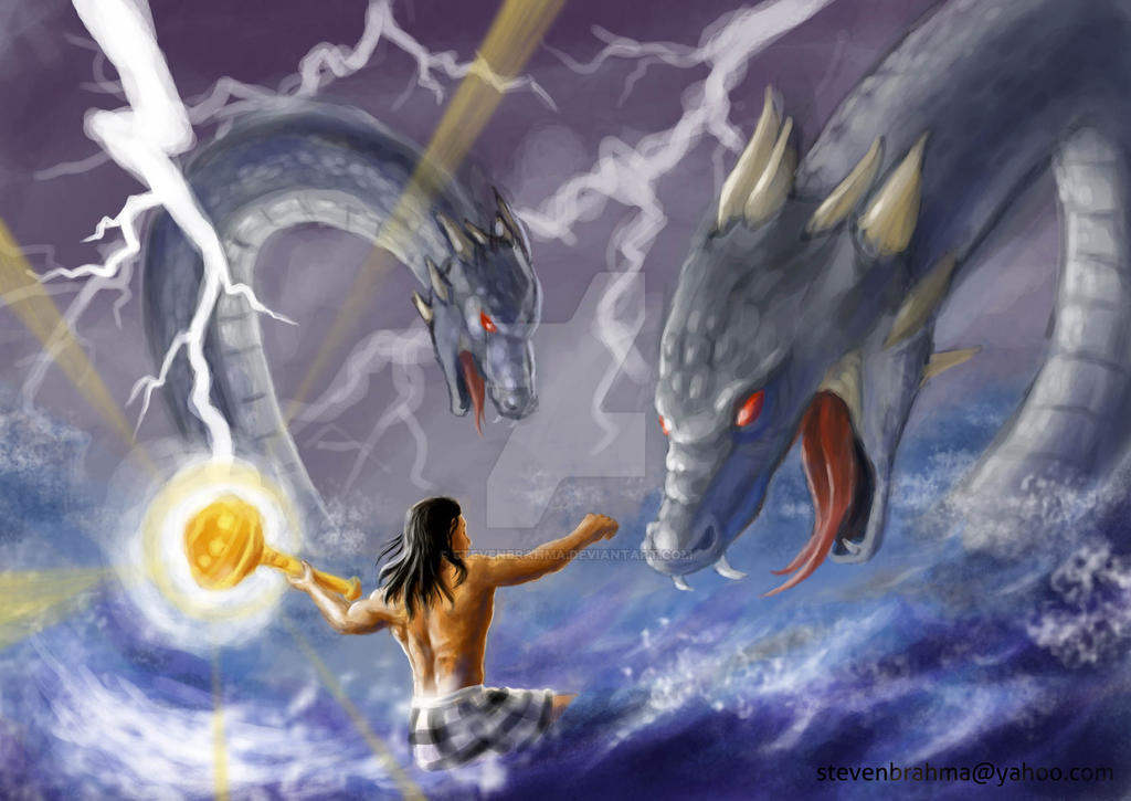 Bima and the Serpents - by StevenBrahma