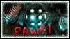 Rawr im a big daddy stamp by Titanium-Zen
