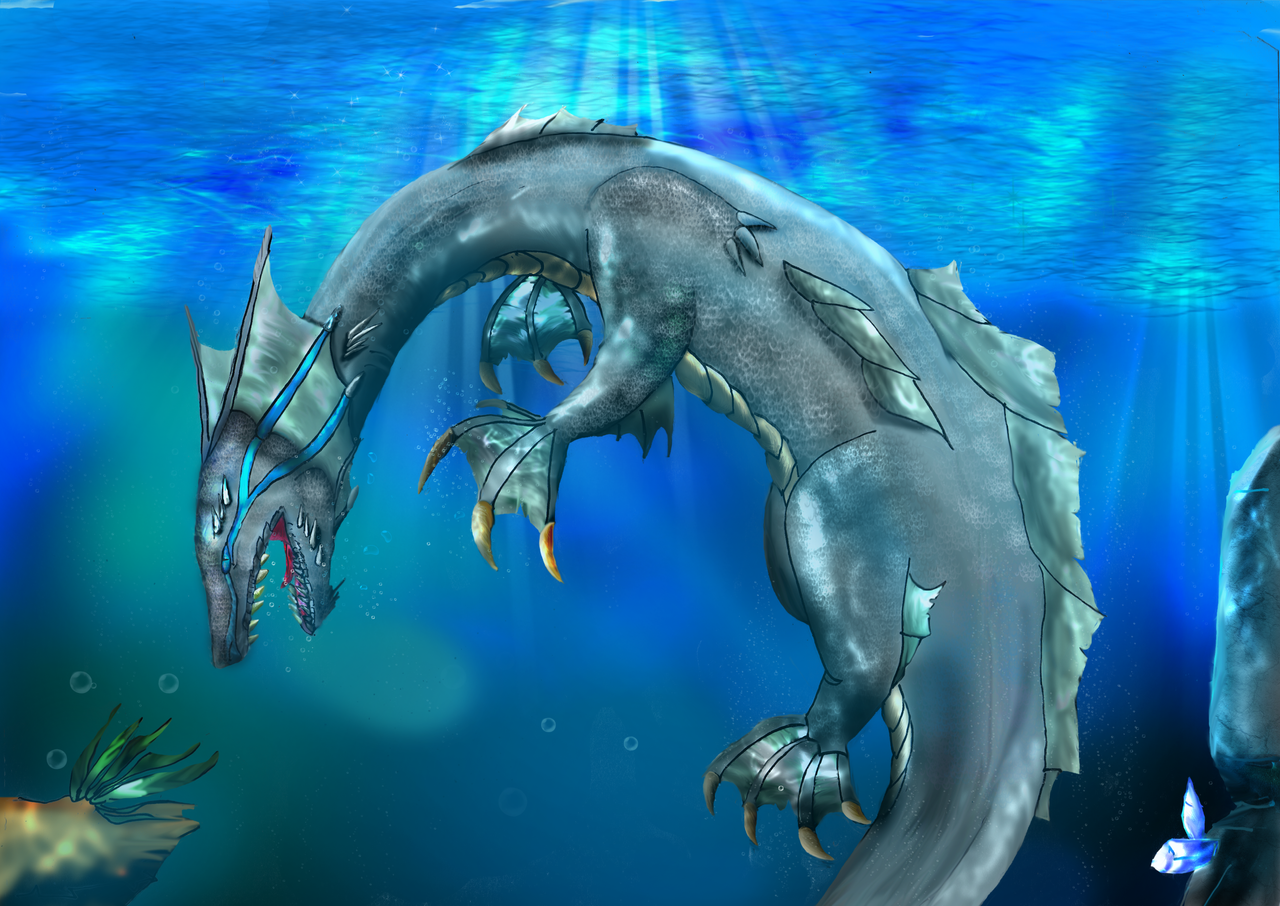 Sea Dragon by Titanium-Zen