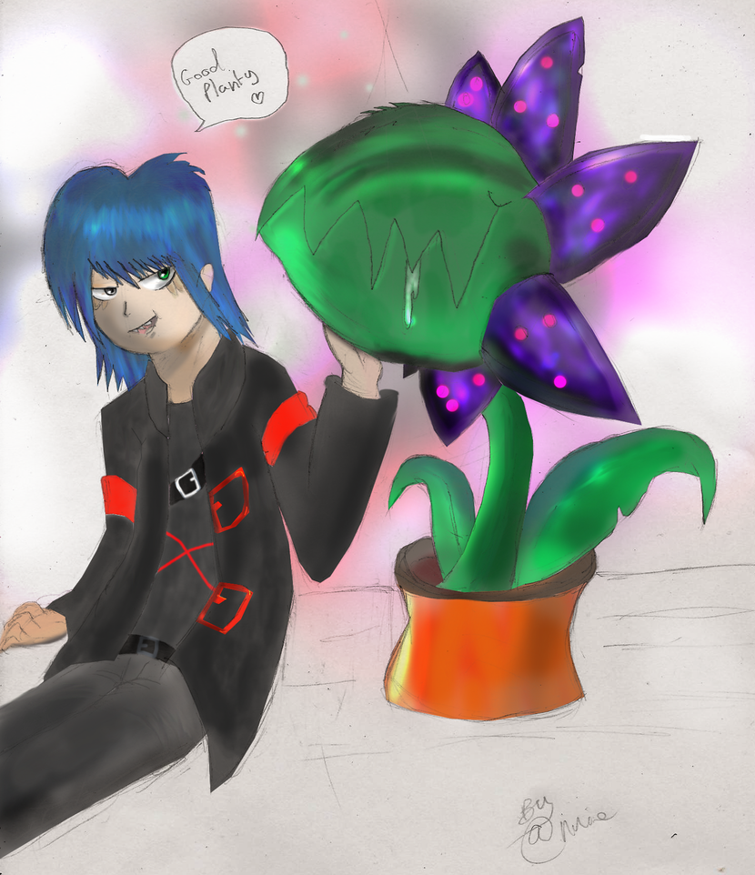 Dark's pet plant :3 by Dr-Platinum