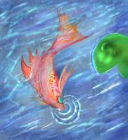 Golden Fish by Titanium-Zen