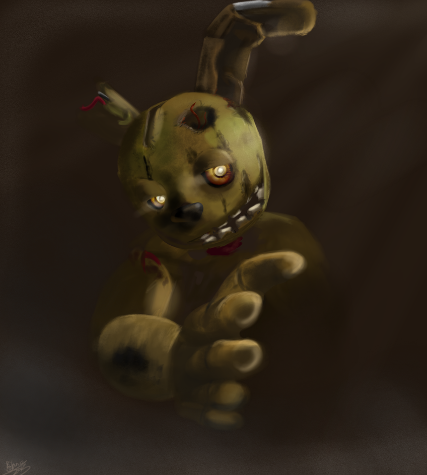 S Prung Springtrap Purple Guy Deviantart