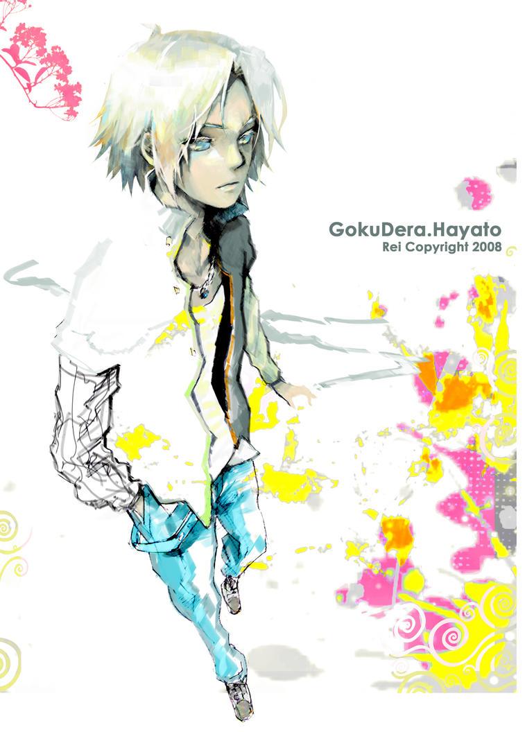 Gokudera Hayato by coralstone