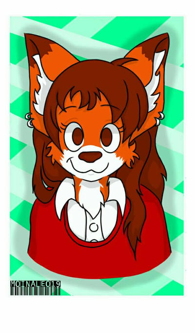 Jun half fox half wolf by MoinAleo19