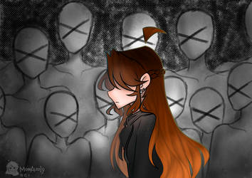 || Tired Of Their Voices || ( ArtVent ) by JuneArtCraft19